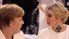 Laute Buhrufe gegen Ivanka Trump in Berlin