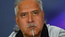 Formel-1-Teamchef Vijay Mallya verhaftet