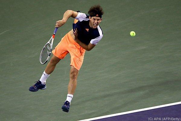 Dominic Thiem bezwang den Weltranglisten-Ersten Andy Murray