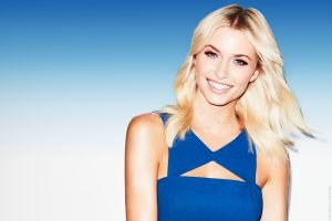 Lena Gercke tauft am 30. Juni 2017 die AIDAperla