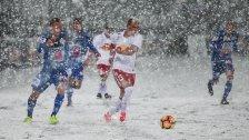 Erste-Liga-Partie wegen Schnee abgebrochen