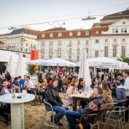 Start für Sand in the City 2017 in Wien: Season Opening Party