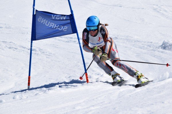 Stefanie Klocker wurde Dreifach-Europameisterin