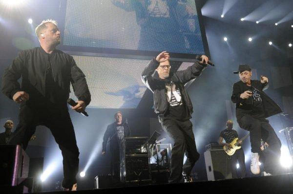 Die Fantastischen Vier sind in der Marxhalle live on stage.