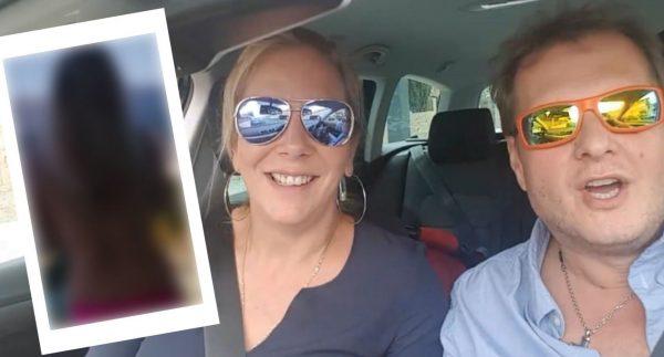 Jens Büchner mit seiner Daniela.