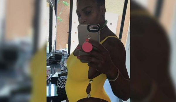 Serena Williams auf Snapchat.