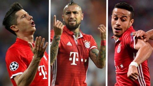 Polizei griff ein: Bayern-Stars stürmten Schiedsrichter-Kabine