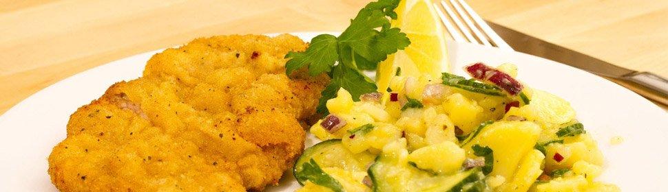 Die Wiener Küche mit traditionellen Speisen