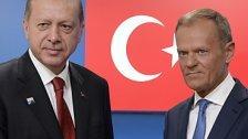 Brüssel: Erdogantraf Tusk und Juncker
