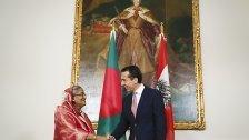 Besuch von Bangladeschs Regierungschefin