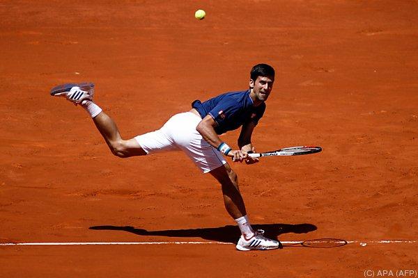 Djokovic hatte zu kämpfen