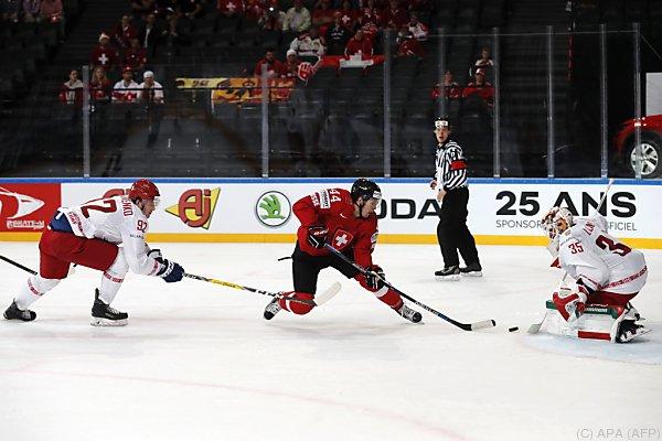 Die Schweizer hatten gegen Weißrussland keine Mühe
