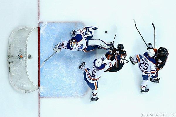 Die Oilers wehrten sich erfolglos
