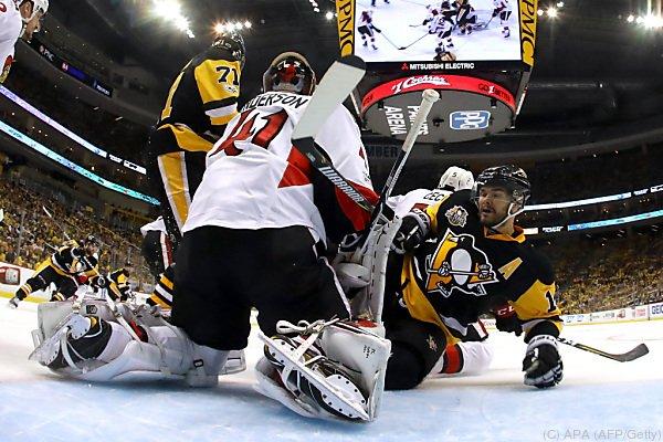 Großen Anteil am Sieg der Senators hatte Goalie Anderson