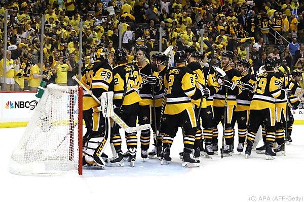 Die Penguins feierten einen 1:0-Heimsieg