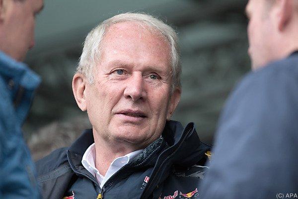 Red-Bull-Teammanager Helmut Marko