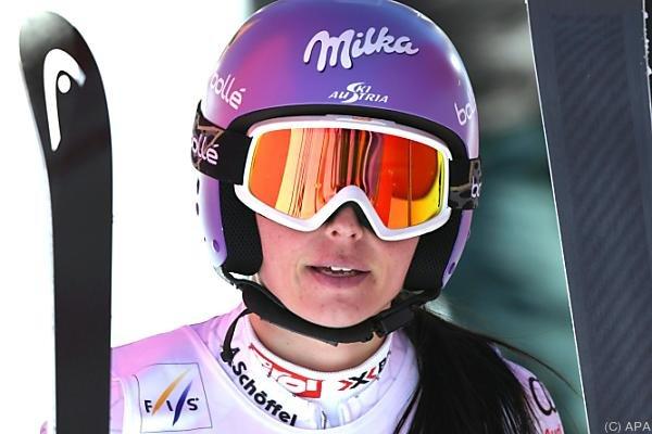 Die Salzburgerin hofft auf einen Olympiastart