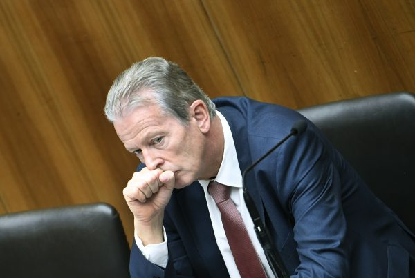 Reinhold Mitterlehner tritt ab.