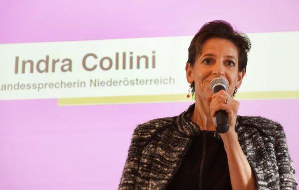 Indra Collini, die Landessprecherin der NEOS NÖ.