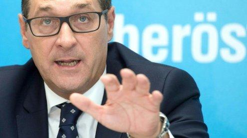 """Heinz-Christian Strache fordert Gefängnisinsel für """"Gefährder"""""""