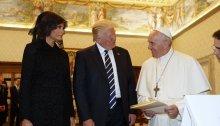 """US-Präsident Trump beim Papst: """"Eine große Ehre"""""""
