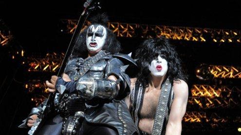 Kiss brachten Rock 'n' Roll-Zirkus