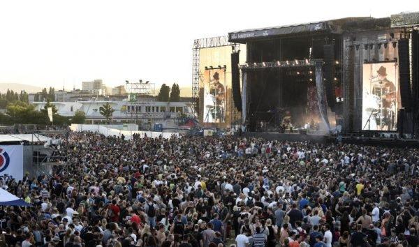 Das Rock In Vienna lädt wieder auf die Donauinsel.