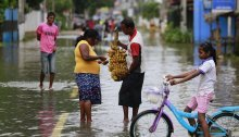 Monsun-Unglück in Sri Lanka: Bereits 164 Tote