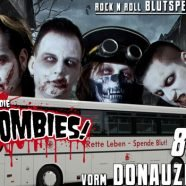 Blutspende-Aktion mit den Bloodsucking Zombies from Outer Space in Wien