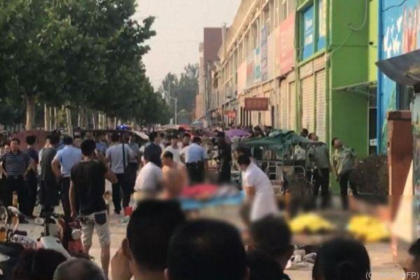 Eltern warteten auf ihre Kinder, dann ereignete sich die Explosion