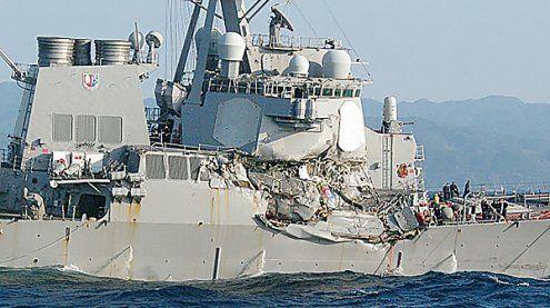 US-Zerstörer kollidiert in Japan mit Frachter – Sieben Vermisste