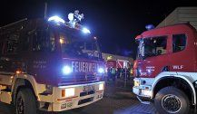 Feuer in Asylunterkunft in Mistelbach: Brandstiftung