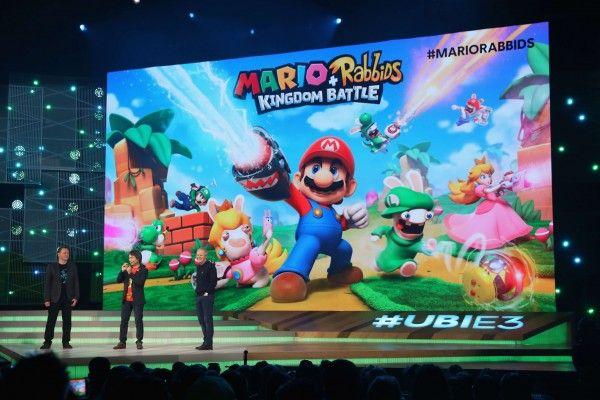 Mario & Rabbids Kingdom Batlle: Super Mario 3D trifft auf XCOM.