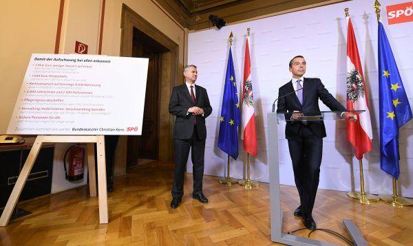 Die Koalitionsbedingungen der SPÖ kosten jährlich 6,5 Mrd. Euro.