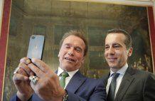 Schwarzenegger hielt Plädoyer in Wien