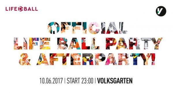 Der Volksgarten bittet zur Life Ball Afterparty.