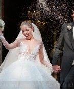 Dieses Detail an Victoria Swarovskis Hochzeitskleid sorgt für Diskussion