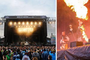 Rock in Vienna am Sonntag: 10.000 machten mit Deichkind Party