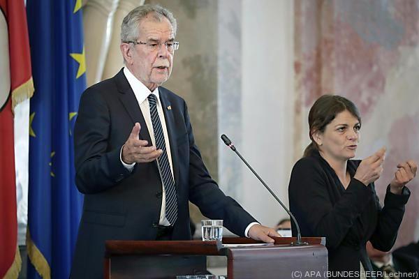 Der Bundespräsident im Tiroler Landtag