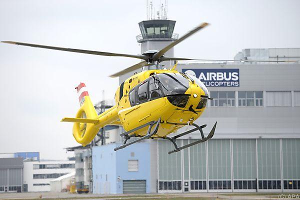 Rettungshubschrauber kam in Bad Mitterndorf zum Einsatz