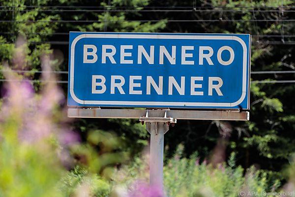 Nichts geht mehr am Sonntagvormittag am Brenner