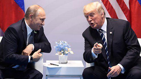 Geheimnisvolles zweites Treffen zwischen Trump und Putin