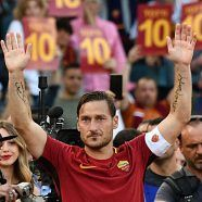 Roma-Legende Francesco Totti beendete Karriere