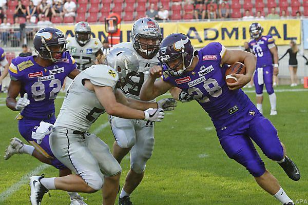 Vienna Vikings holten nach drei Jahren wieder den Titel