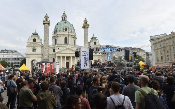 Das Wiener Popfest 2017 ist eröffnet.