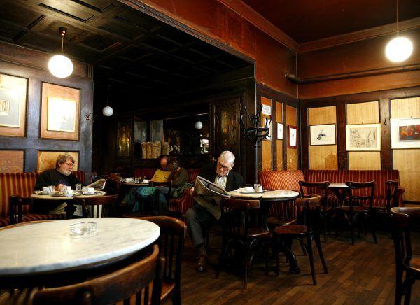 Das Hawelka zählt zu den bekanntesten und bedeutendsten Wiener Kaffeehäusern