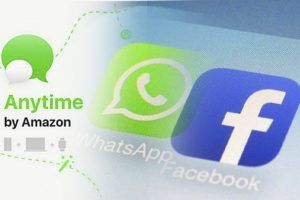 "Whatsapp-Konkurrent? Amazon plant wohl Messenger ""Anytime"""