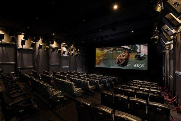 Im Hollywood Megaplex Gasometer entsteht ein 4DX-Kinosaal.