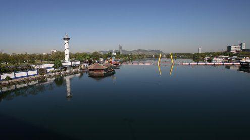 Blinde Frau in Neuer Donau in Wien vor dem Ertrinken gerettet