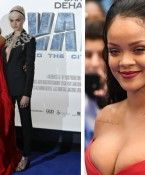 Busen-Press-Alarm bei Rihanna